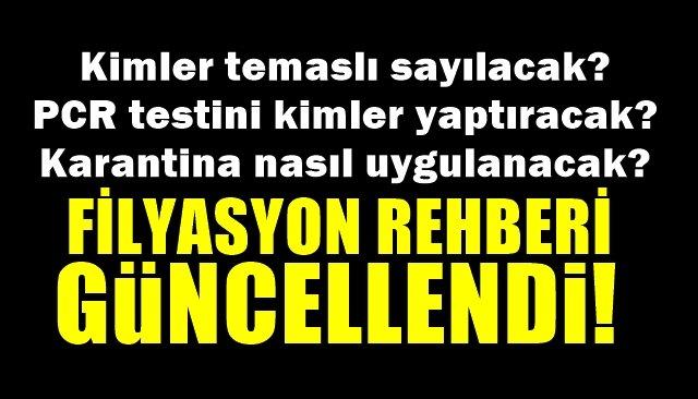 FİLYASYON REHBERİ'NDE GÜNCELLEME