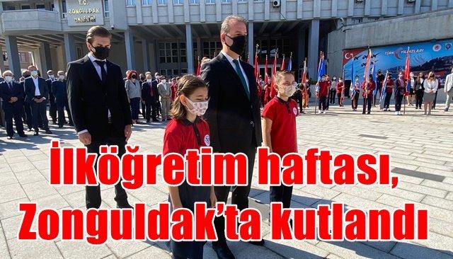 İlköğretim haftası, Zonguldak'ta kutlandı