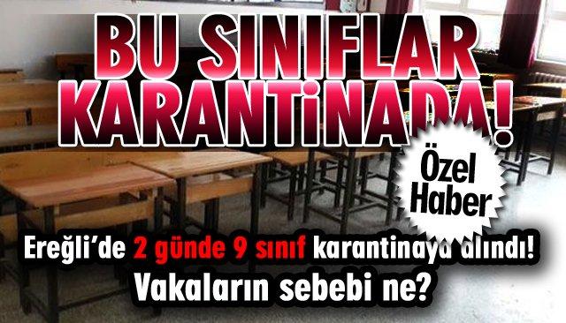 'KARANTİNA SINIFLAR' ARTIYOR!