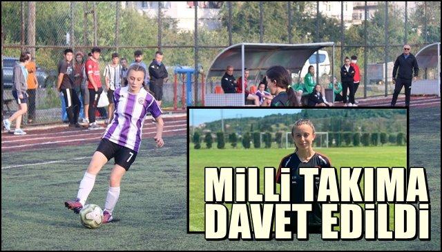 MİLLİ TAKIMA DAVET EDİLDİ