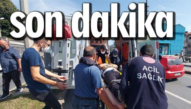 SON DAKİKA/TRAFİK KAZASI!
