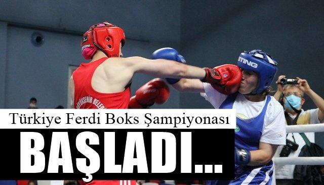 Türkiye Ferdi Boks Şampiyonası başladı…