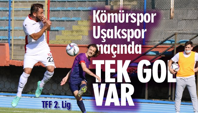 Zonguldak Kömürspor: 0 - Uşakspor: 1