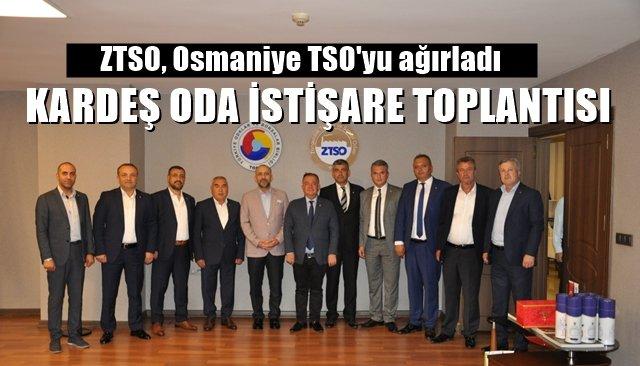 ZTSO'dan Kardeş Oda İstişare Toplantısı