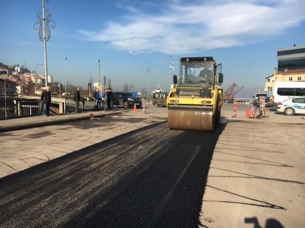 Zonguldak Belediyesi asfalt çalışmalarına başladı