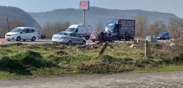 Ereğli´de trafik kazası: 4 yaralı