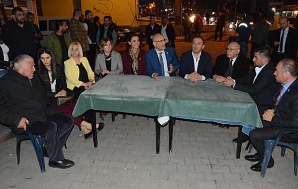 İYİ Parti vatandaşlarla buluştu…