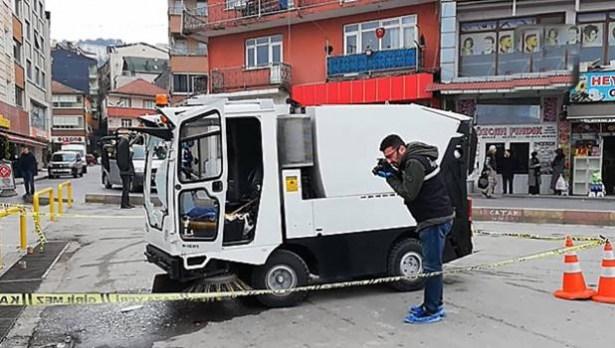 Alaplı´da cinayet, belediye işçisi mesai arkadaşını öldürdü