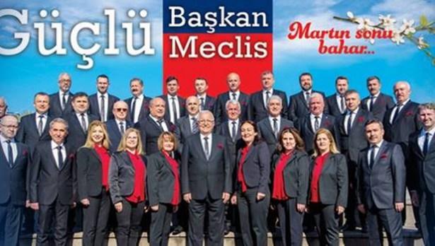 Belediye meclisinde CHP ezici üstünlük sağladı
