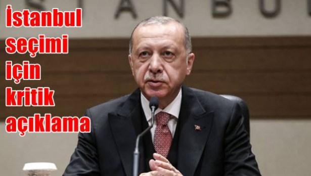 Erdoğan, ´seçim usulsüz´ dedi ve topu YSK´ya attı