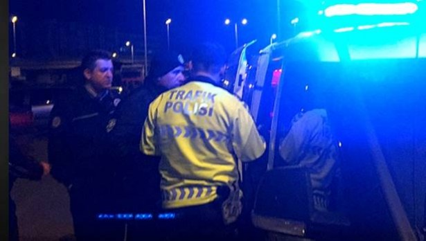 Polisten de cezadan da kaçamadı…