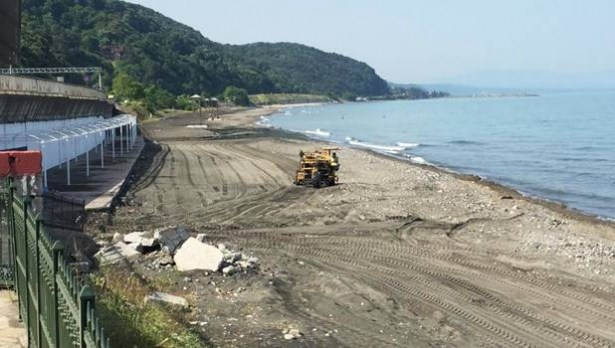 Belediye Plajı 10 HAziran´da açılıyor