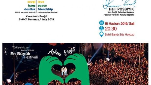 Ereğli Belediyesi, festivali tanıtacak