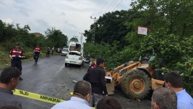 Alaplı´da trafik kazası: bir kişi yaşamını kaybetti