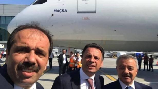 Vekil Türkmen, ilk uçuşta yer aldı
