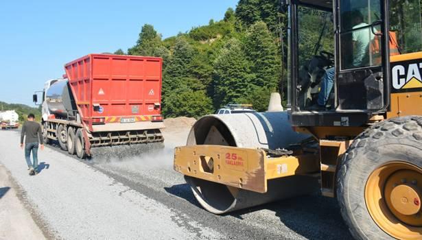 Ereğli´de asfalt çalışmaları başladı