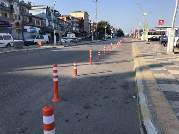 Alaplı´da trafik sorununa dubalı çözüm