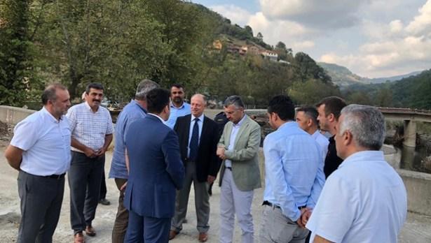 Zonguldak ve Ereğli protokollü hafta sonu mesaisini Çaylıoğlu´nda yaptı