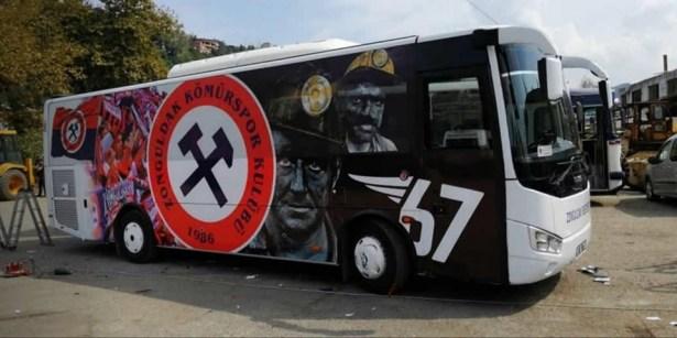 Kömürspor, takım otobüsüne kavuştu