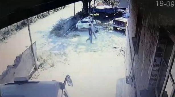 Fındık hırsızları yakalandı