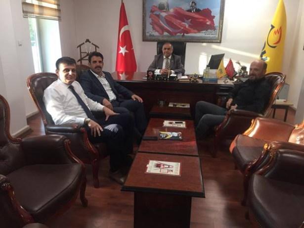 Çakır, yeni PTT binası için Başmüdür Meşeli´ye teşekkür etti