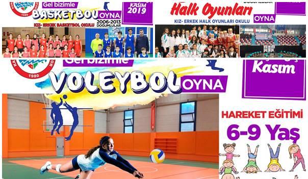 Salon Spor Okulları açılıyor
