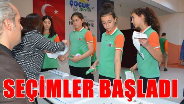 Çocuk Meclisi seçimleri başladı